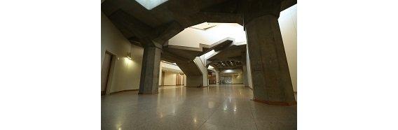 فضای نمایشگاهی مرکز همایشهای بین المللی کتابخانه ملی