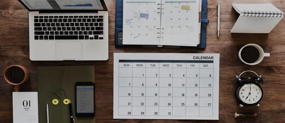 معیار انتخاب زمان برگزاری و برنامه زمانبندی گردهمایی